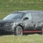 Новый Nissan Pathfinder – тесты начались.