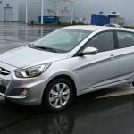 «Российский» Hyundai Solaris.