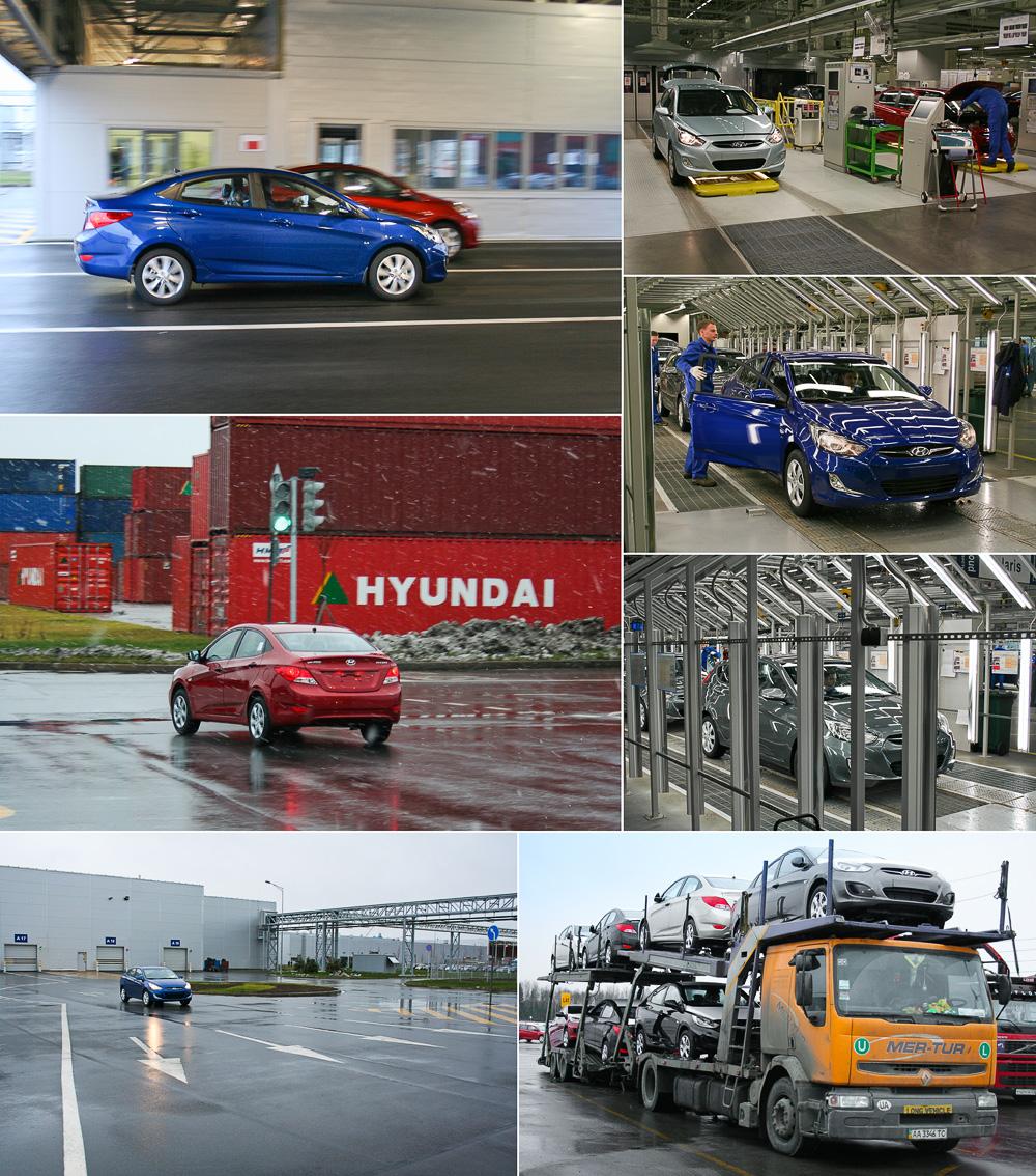 Готовый Hyundai Solaris
