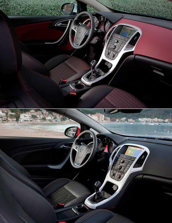 Фото передней части Opel Astra GTC
