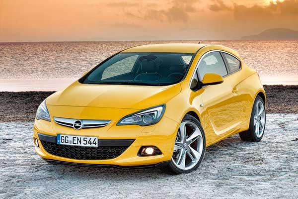 И на последок  Opel Astra GTC.... бип-бип