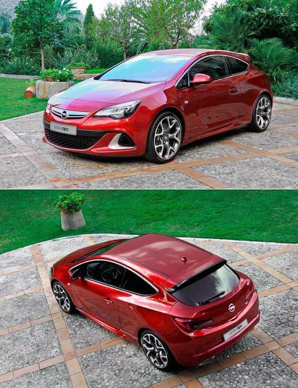 На фото Opel Astra GTC ОРС