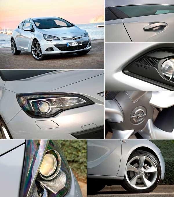 Opel Astra GTC в деталях