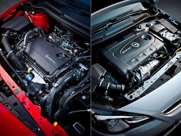 Двигатель Opel Astra GTC