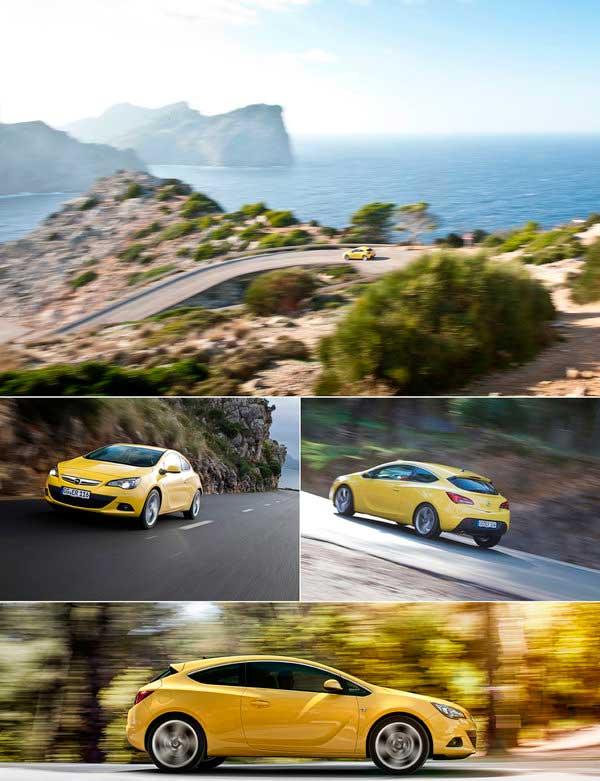 Opel Astra GTC уже в пути