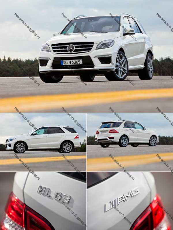 Mercedes ml63 amg 2012