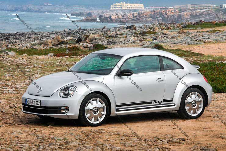 Volkswagen new Beetle 2012 новый и фото