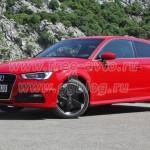 Audi 3 — автомобиль нового поколения.