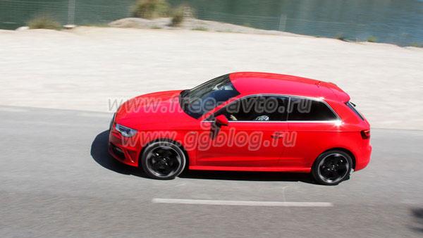 Audi 3 - автомобиль нового поколения.