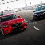 Honda Accord и Mazda6 одинаково популярны.