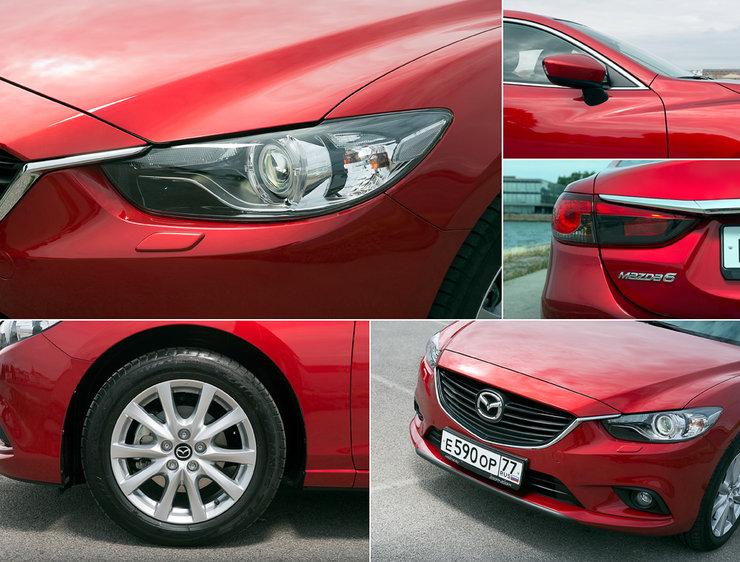 Автомобиль Mazda 6 2.5 |