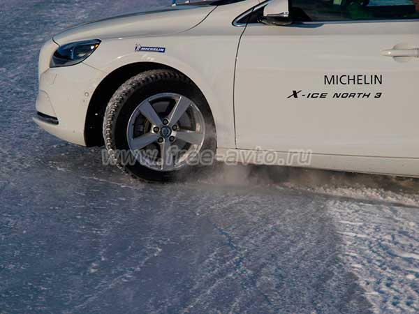 специальные шины Michelin X-Ice North 3